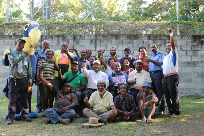 Tura with Gerehu Community Leaders and village court Magistrates